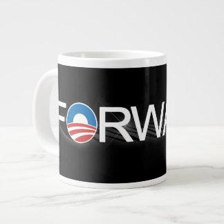 Remita para Obama 2012 Tazas Jumbo