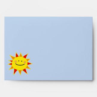 Remite del sol sonriente