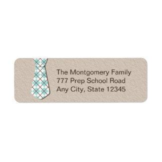 Remite Labelsi de la corbata de muy buen gusto de  Etiqueta De Remitente