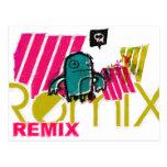 remix post card