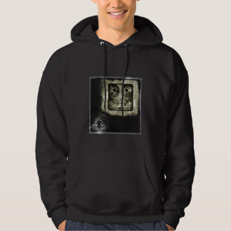 remixed on a black T - Customized - Customized Hoody