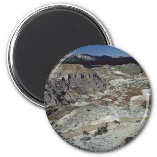 Remnant Of An Extinct River 2 Inch Round Magnet