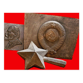 Remnants of Communism Postcard