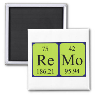 Remo periodic table name magnet
