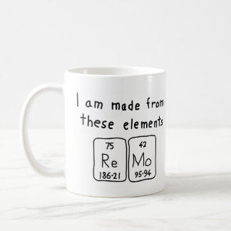 Chemical name office products supplies zazzle remo periodic table name mug urtaz Choice Image