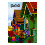Remodel Homes Large Business Cards (Pack Of 100)