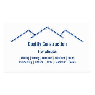 Remodelado casero/construcción tarjetas de visita