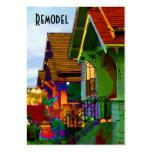 Remodele los hogares tarjeta de negocio