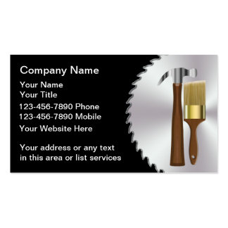 Remodeling Business Card