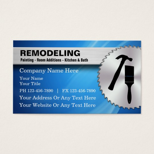 Home Builder Business Cards & Templates | Zazzle