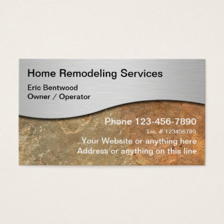 Home Renovation Business Cards & Templates | Zazzle