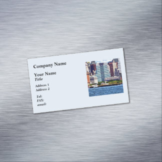 Remolcador que empuja la gabarra cerca del tarjetas de visita magnéticas (paquete de 25)