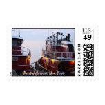 Remolcadores del puerto en en el puerto Jefferson Envio