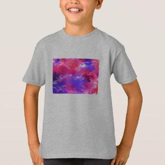 Remolino 1, camiseta del color de los niños