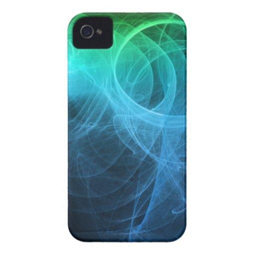 Remolino 1 del fractal iPhone 4 protector