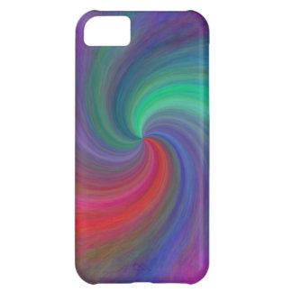 Remolino abstracto #12, regalos funda para iPhone 5C