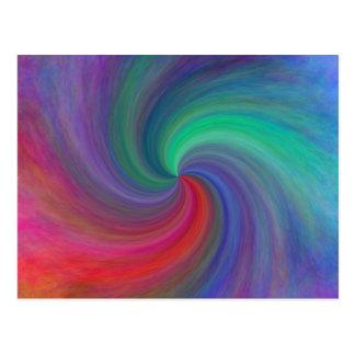 Remolino abstracto #12, regalos postales