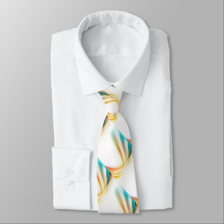 Remolino abstracto 2 corbata personalizada