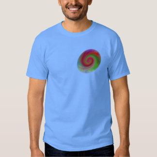 Remolino abstracto #76, camiseta playeras