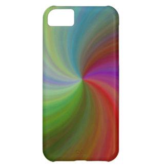 Remolino abstracto #79 funda para iPhone 5C