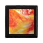 Remolino abstracto caliente cajas de recuerdo