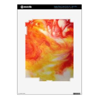 Remolino abstracto caliente iPad 3 skins