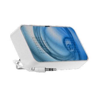 Remolino abstracto del agua texturizado portátil altavoces