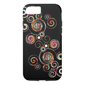 Remolino abstracto funda iPhone 7