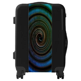 Remolino abstracto maletas