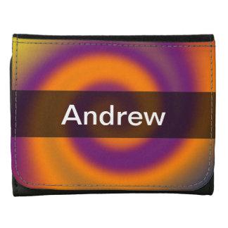 Remolino abstracto púrpura anaranjado maravilloso