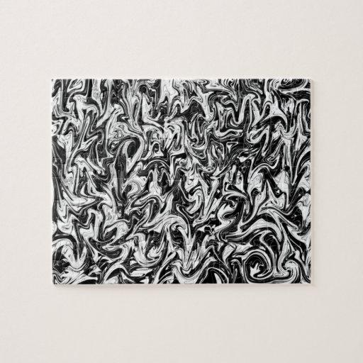 Remolino abstracto rompecabezas