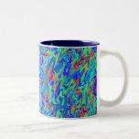 Remolino abstracto tazas de café