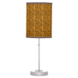 Remolino abstracto texturizado personalizable lámpara de mesilla de noche