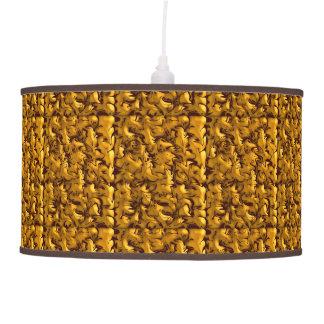 Remolino abstracto texturizado personalizable lámpara de techo