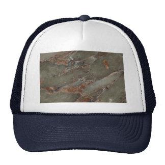 Remolino ambarino completamente sólido gorras
