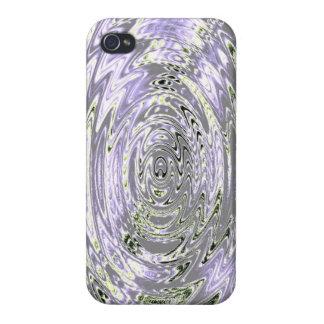 Remolino Amethyst iPhone 4/4S Carcasa