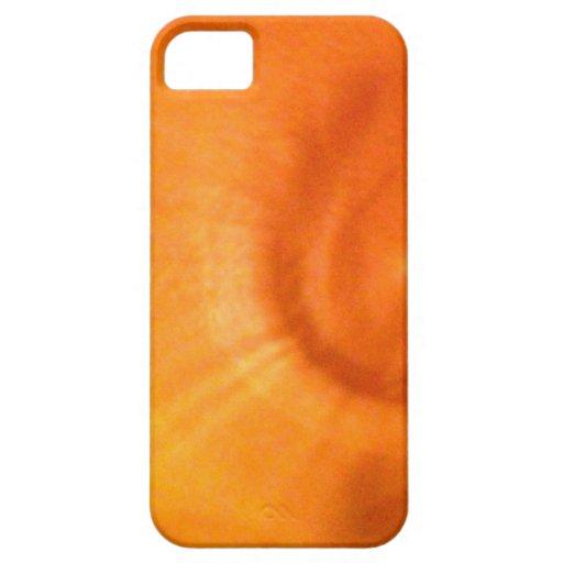 Remolino anaranjado encendido iPhone 5 cobertura