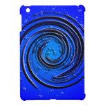 Remolino azul del huracán iPad mini protector