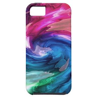 Remolino azul iPhone 5 Case-Mate cárcasa