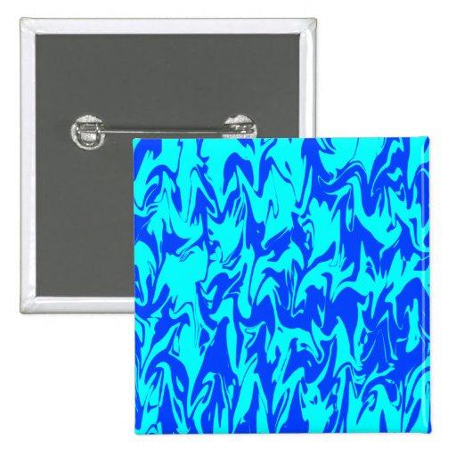 Remolino azul pin cuadrado