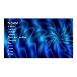 Remolino azul plantillas de tarjetas personales