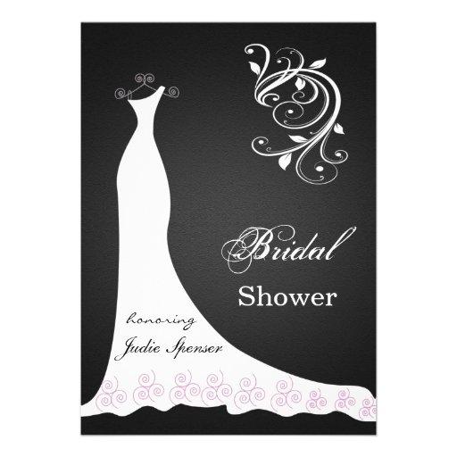 Remolino blanco del vestido de boda en ducha nupci anuncio