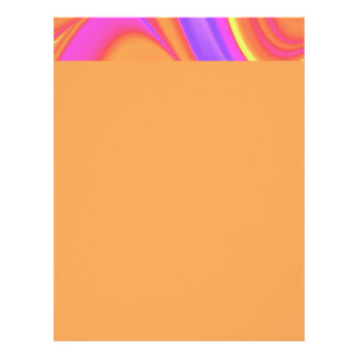 Remolino brillante del color membrete a diseño