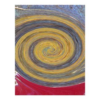 Remolino - colores del moho/de ROSTart Plantillas De Membrete