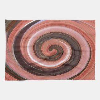 Remolino - colores del moho/de ROSTart Toallas