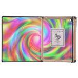 Remolino colorido iPad protectores