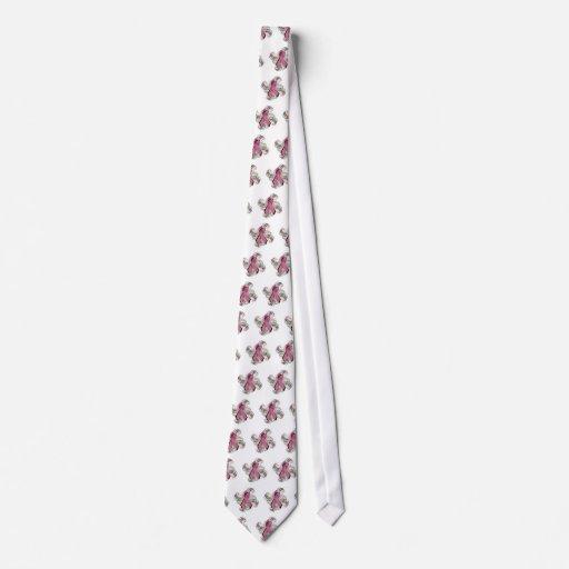 Remolino/corbata de lazo rosada corbatas