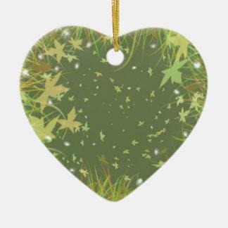 Remolino de la fantasía de las hojas del verde ornamentos para reyes magos