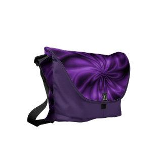 Remolino de la lila bolsa messenger