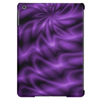 Remolino de la lila carcasa iPad air